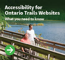 accessibility fo ontario trails websites