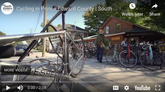 cycling in prince edward county