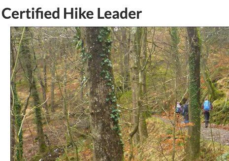 certified hike leader