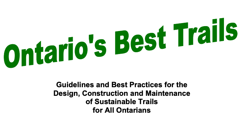 ontario's best trails guidelines and practices