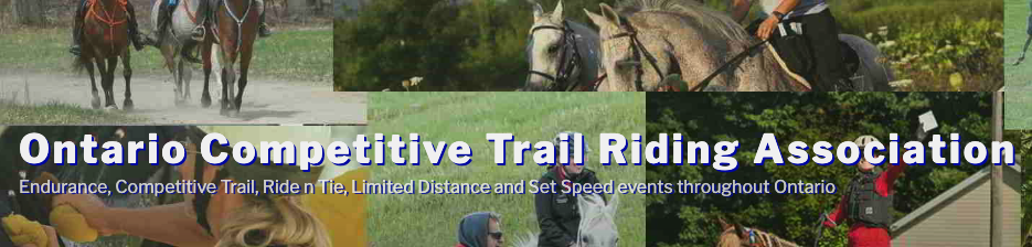 ontario competative trail riding association