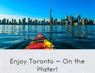 toronto tourism canoe and kayak