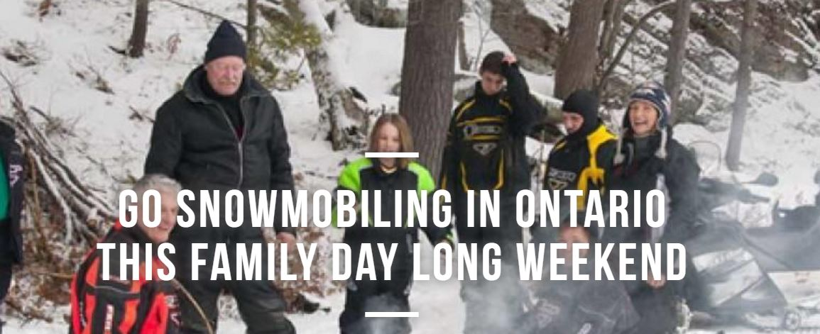 Go Snowmobiling Family Day Event | Ontario Trails Council