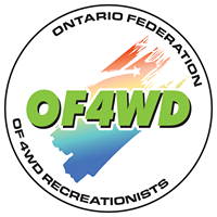 Ontario federation of four wheel drive recreationists