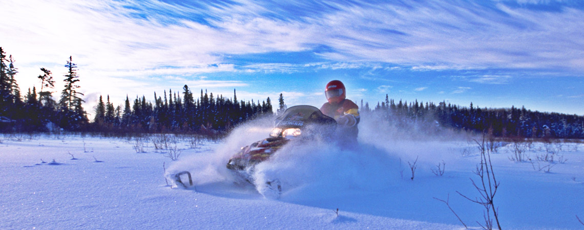 Snowmobiling | Ontario Trails Council