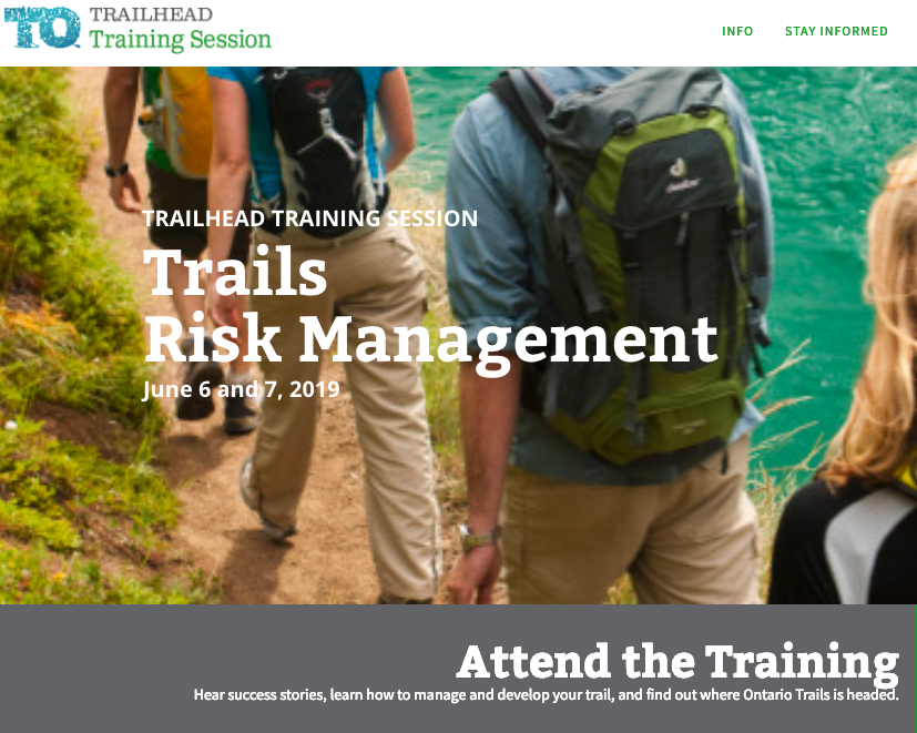 trails risk management training