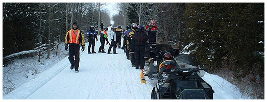 Haliburton County Snowmobile Association Trail | Ontario ...