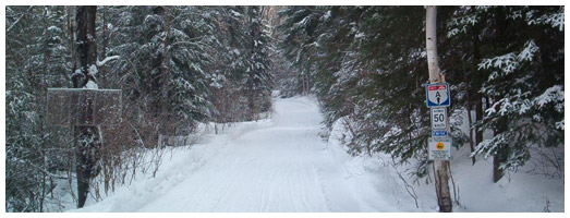 South Shore/Restoule Snowmobile Club Trail | Ontario ...