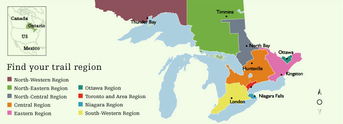 Ontario Trail Regions