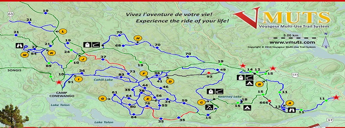 ontario snowmobile map with Voyageur Multi Use Trail System Vmuts on Snowmobiling also Voyageur Multi Use Trail System Vmuts likewise Cottage Country Home Mortgage in addition Larry Berrio Ontario Snowmobile Trails And Triumphs In Timmins also Brucepeninsula.