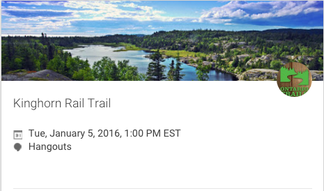 join us for trails talk on gplus hangouts